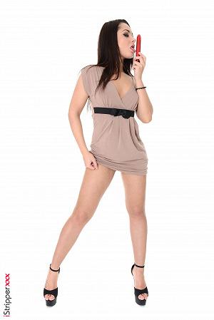Brunette Girl Aurelly Rebel Nude Images #14