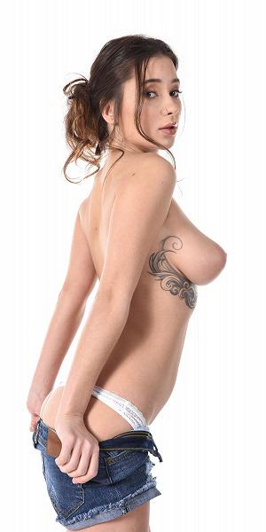 Liya Silver Sideways Perfectly Shaped Tits