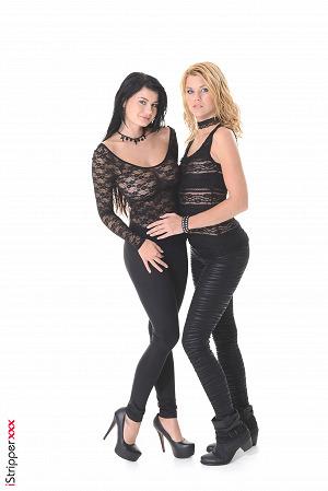 Luci Li & Izzy Lesbian Duo Has Fun #8
