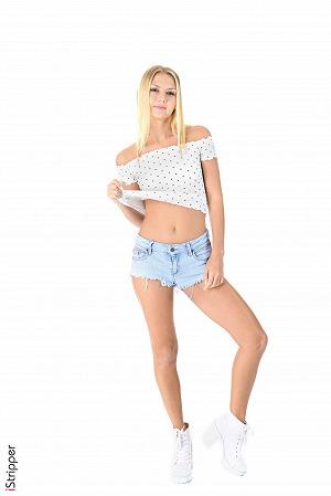 Hot Kristina Naughty Strip Pics #1