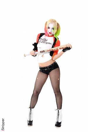 Stripper Girl Harley Quinn Cosplay